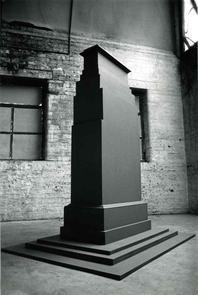 Stuart Brisley, The Cenotaph Project, 1987-91, Installation (with Maya Balcioglu). Image: Maya Balcioglu.