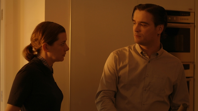 Joanna Crawford and Brendan McCormack in Alan Phelan's film, Include Me Out of the Partisans Manifesto (2012)