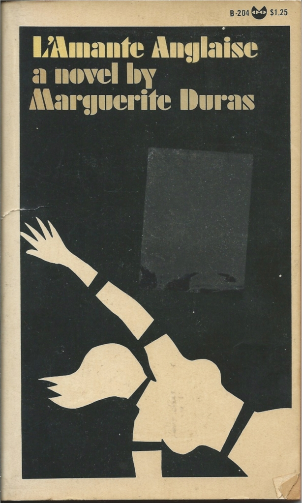 Author tony white piece of paper press my top 10 experimental thrillers piece including marguerite duras brilliant lamante anglaise seen here in grove presss beautiful 1968 evergreen black fandeluxe Image collections