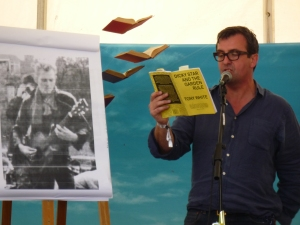 Tony White reads from Dicky Star and the Garden Rule at Port Eliot, 22 July 2012